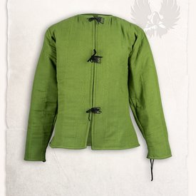 Mytholon Linen Gambeson findes Aulber grøn