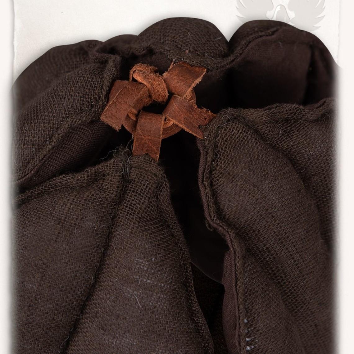 Mytholon tapa de lino de armado Aulber marrón