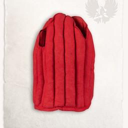 Linen arming cap Aulber red
