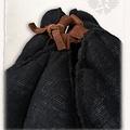 Mytholon tapa de lino de armado Aulber abierto negro