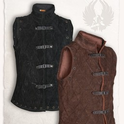 Gambeson Arthur suede leather black