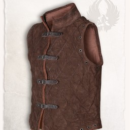 Gambeson Arthur suede leather light brown