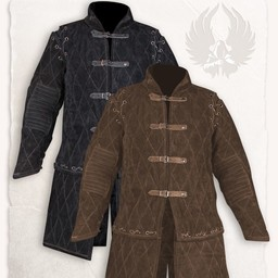 Gambeson Arthur suede leather complete set brown