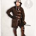 Mytholon Gambeson Arthur suedeleer complete set bruin