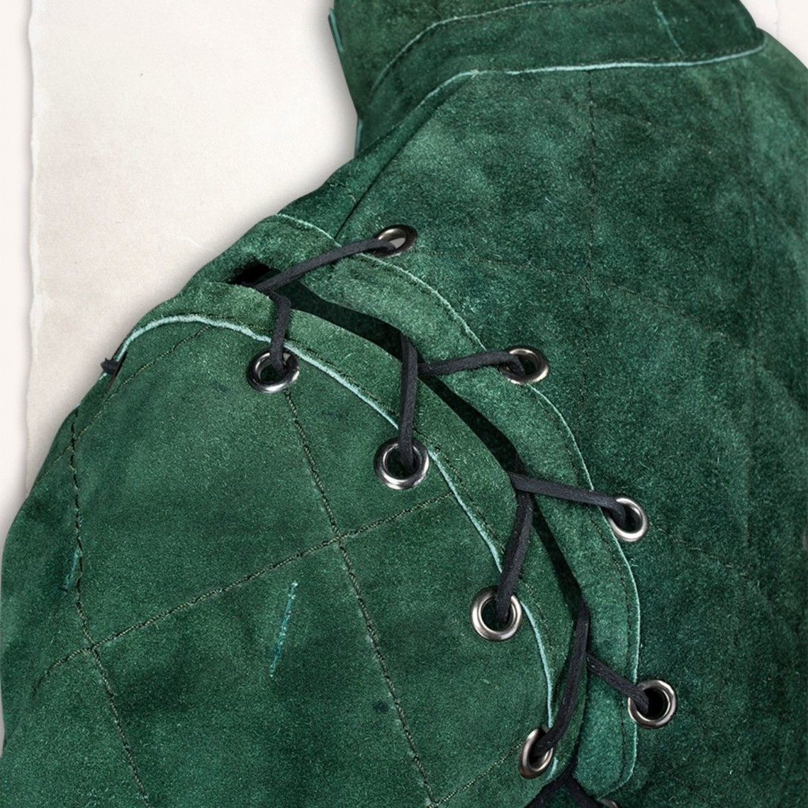 Mytholon Gambeson Arthur suedeleer complete set groen