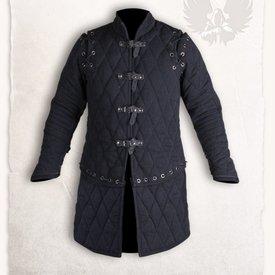Mytholon Gambesón Arthur completa conjunto negro