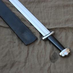 Godfred sword battle-ready, black (blunt 3 mm)