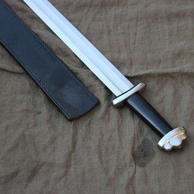 Urs Velunt Godfred Schwert kampfbereit, schwarz