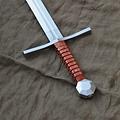 Mytholon Espada medieval Hans, lista para la batalla