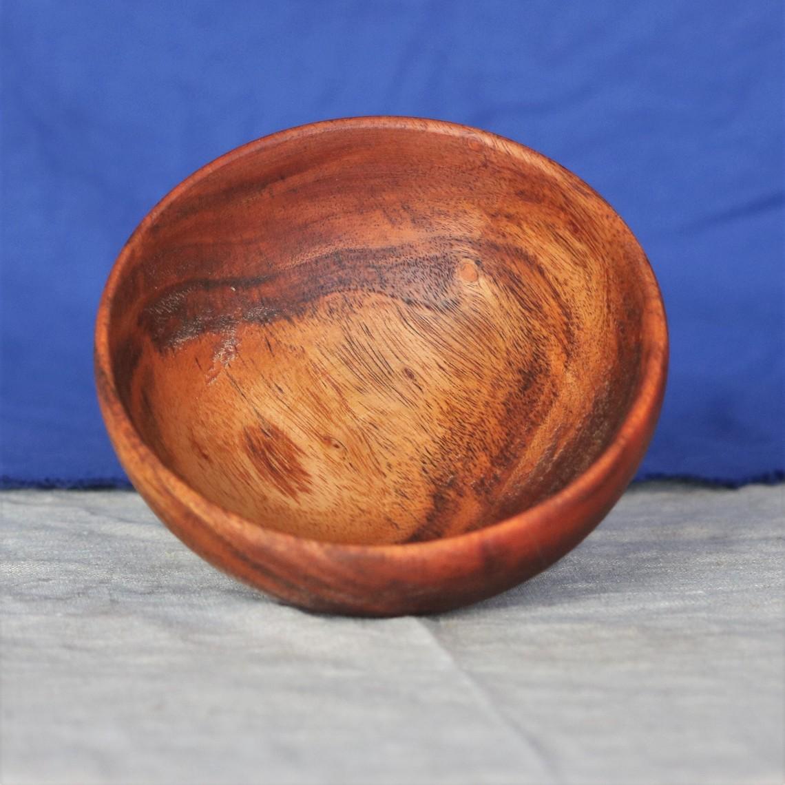 Mytholon Middeleeuwse houten kom S