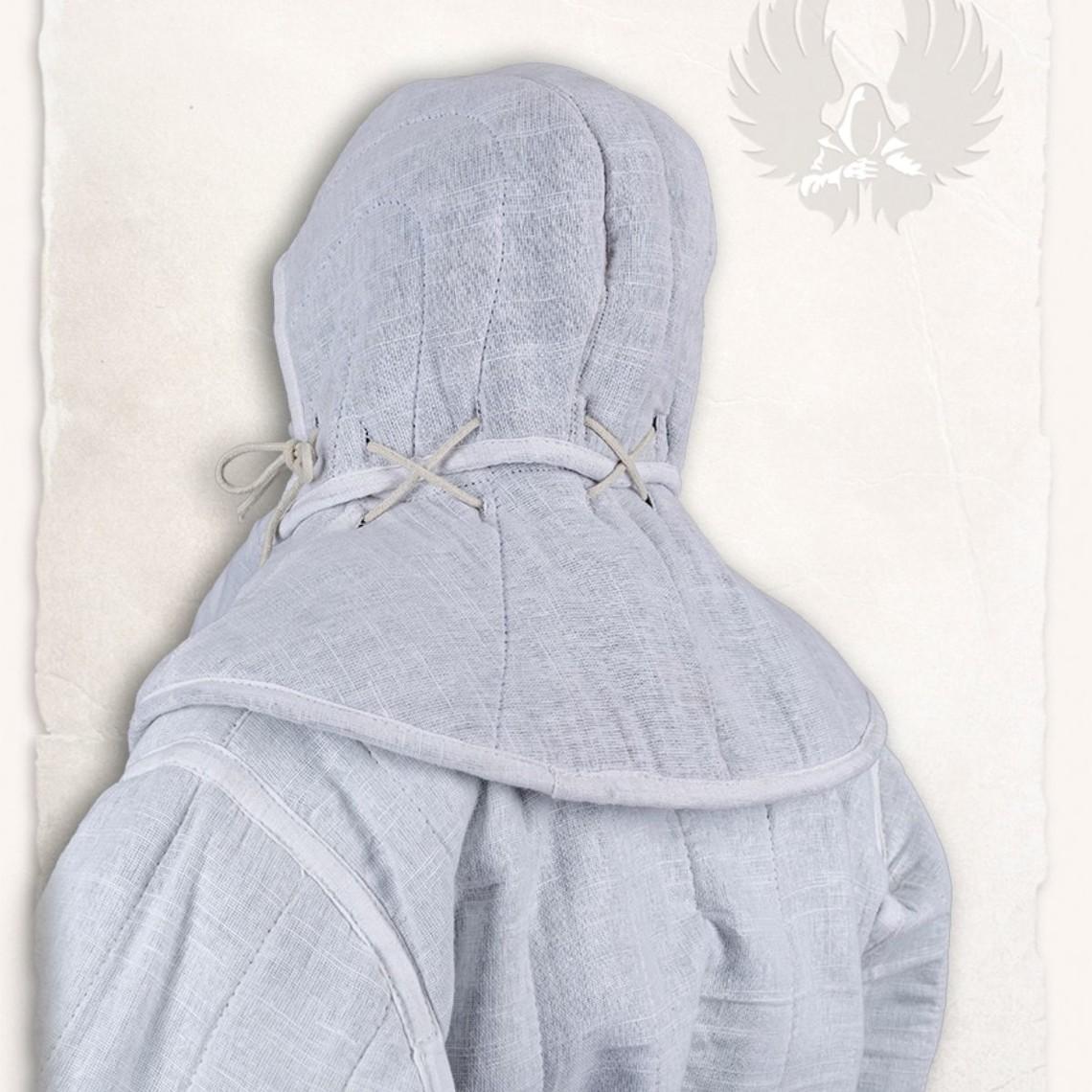 Mytholon campana Gambesón y cuello blanco lino Aulber