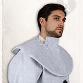 Mytholon Gambeson kap en kraag Aulber linnen wit