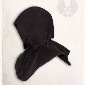 Mytholon Gambeson kap en kraag Aulber linnen zwart