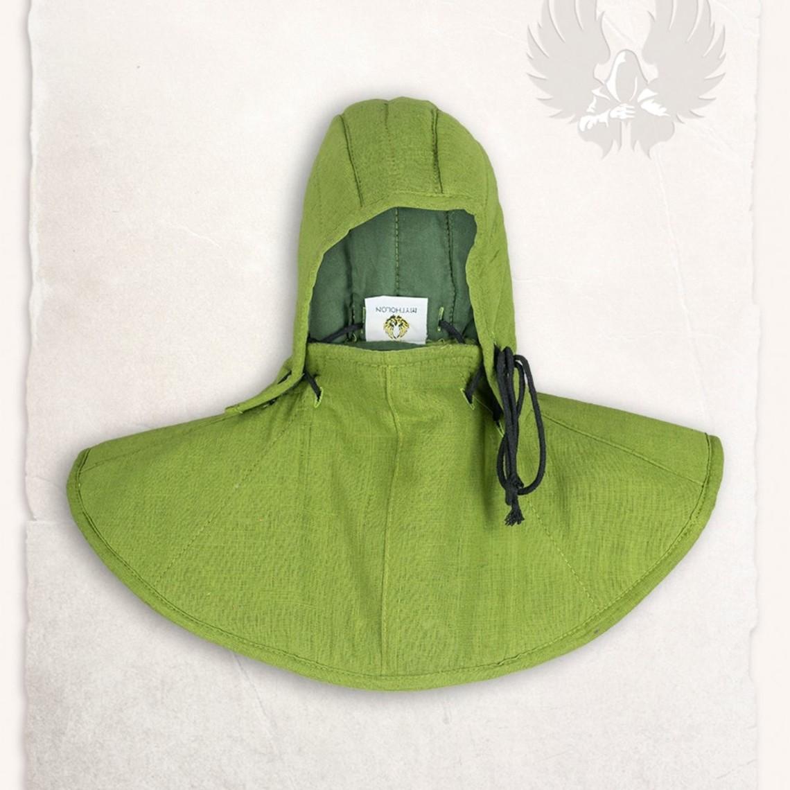 Mytholon campana Gambesón y el collar Aulber lino verde