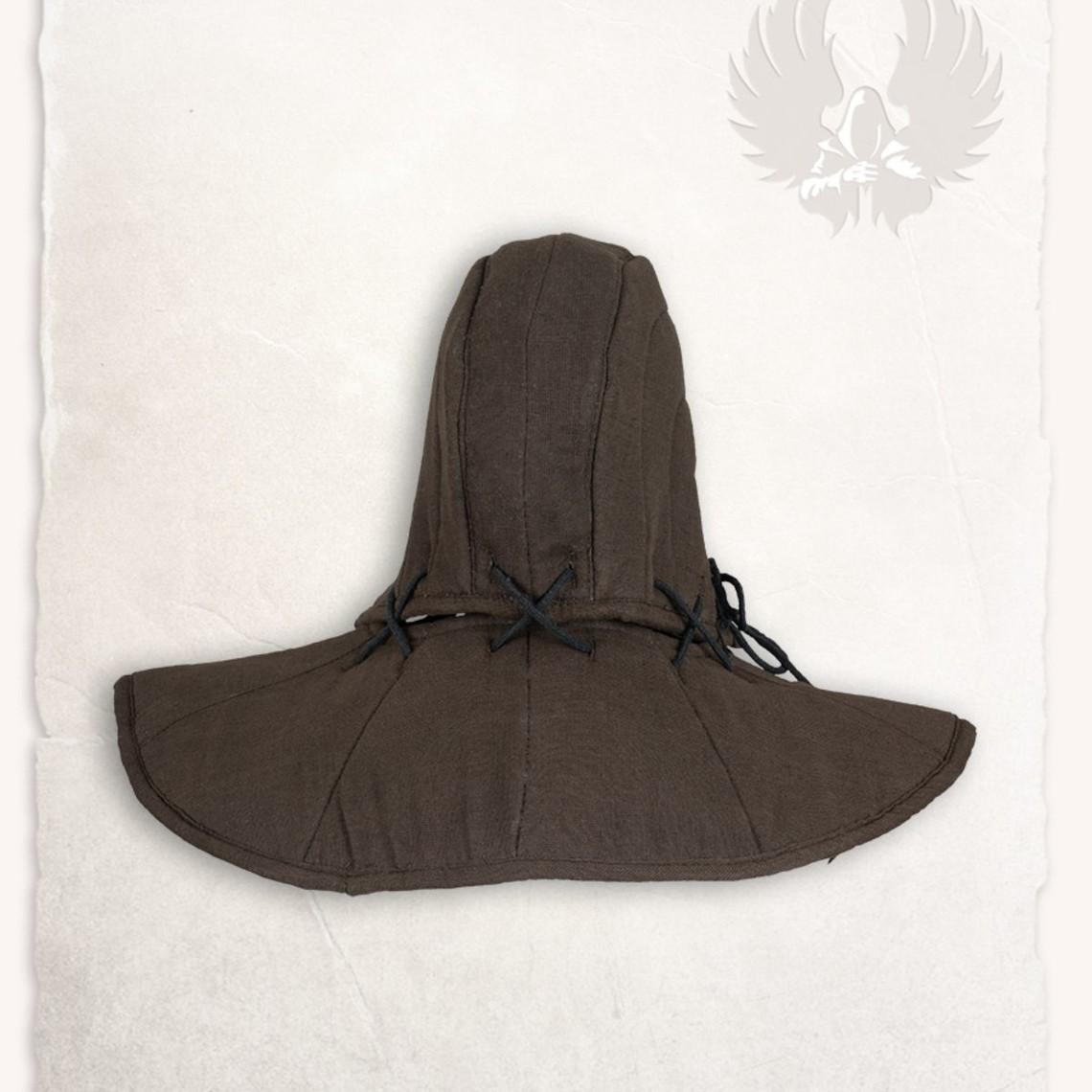 Mytholon Gambeson kap en kraag Aulber linnen bruin