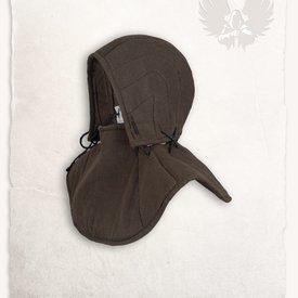 Mytholon campana Gambesón y el collar Aulber lino marrón