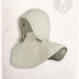 Gambeson hood and collar Aulber cream