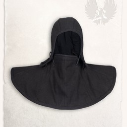Gambeson hood and collar Aulber black