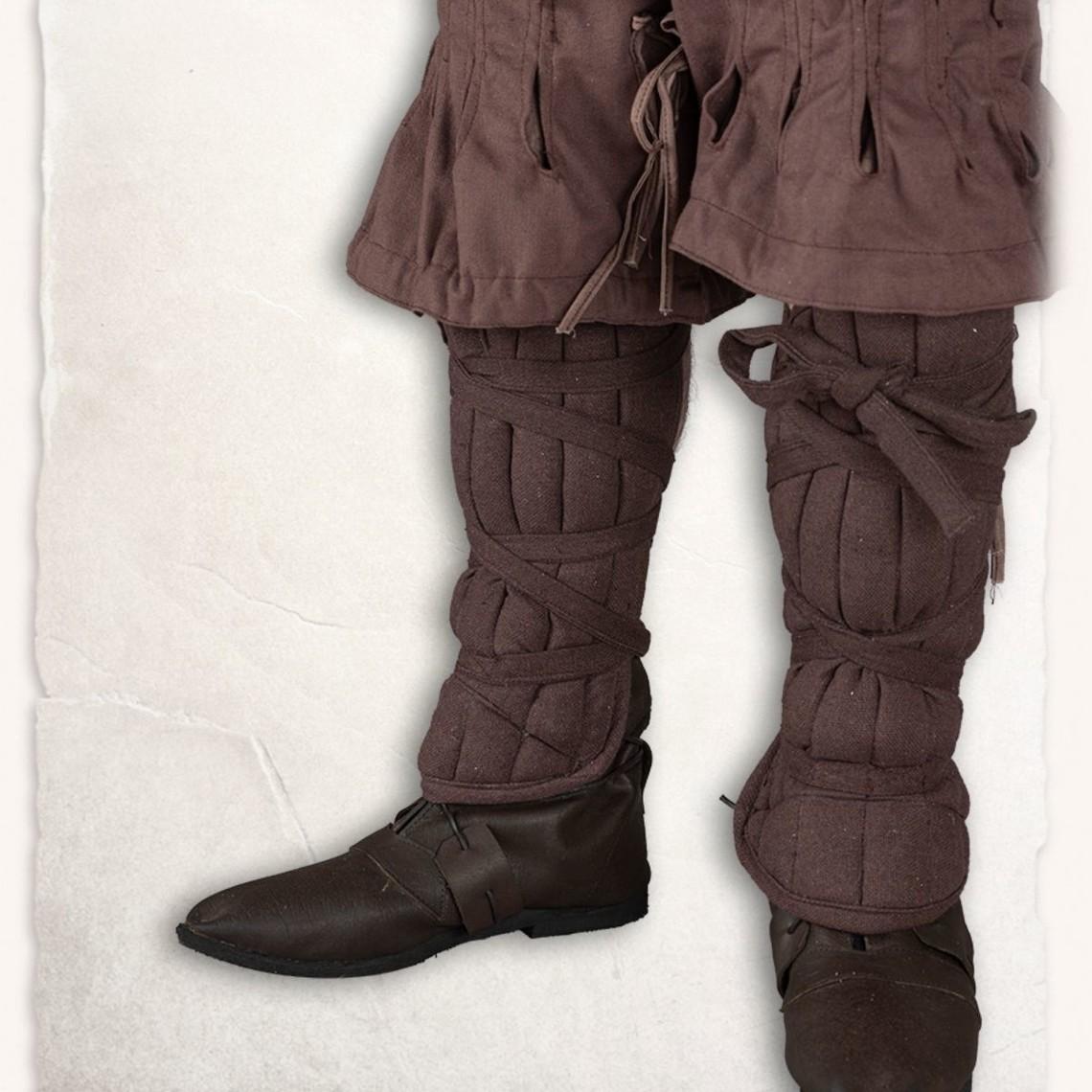 Mytholon Gambeson beenbeschermers Farald, canvas, bruin