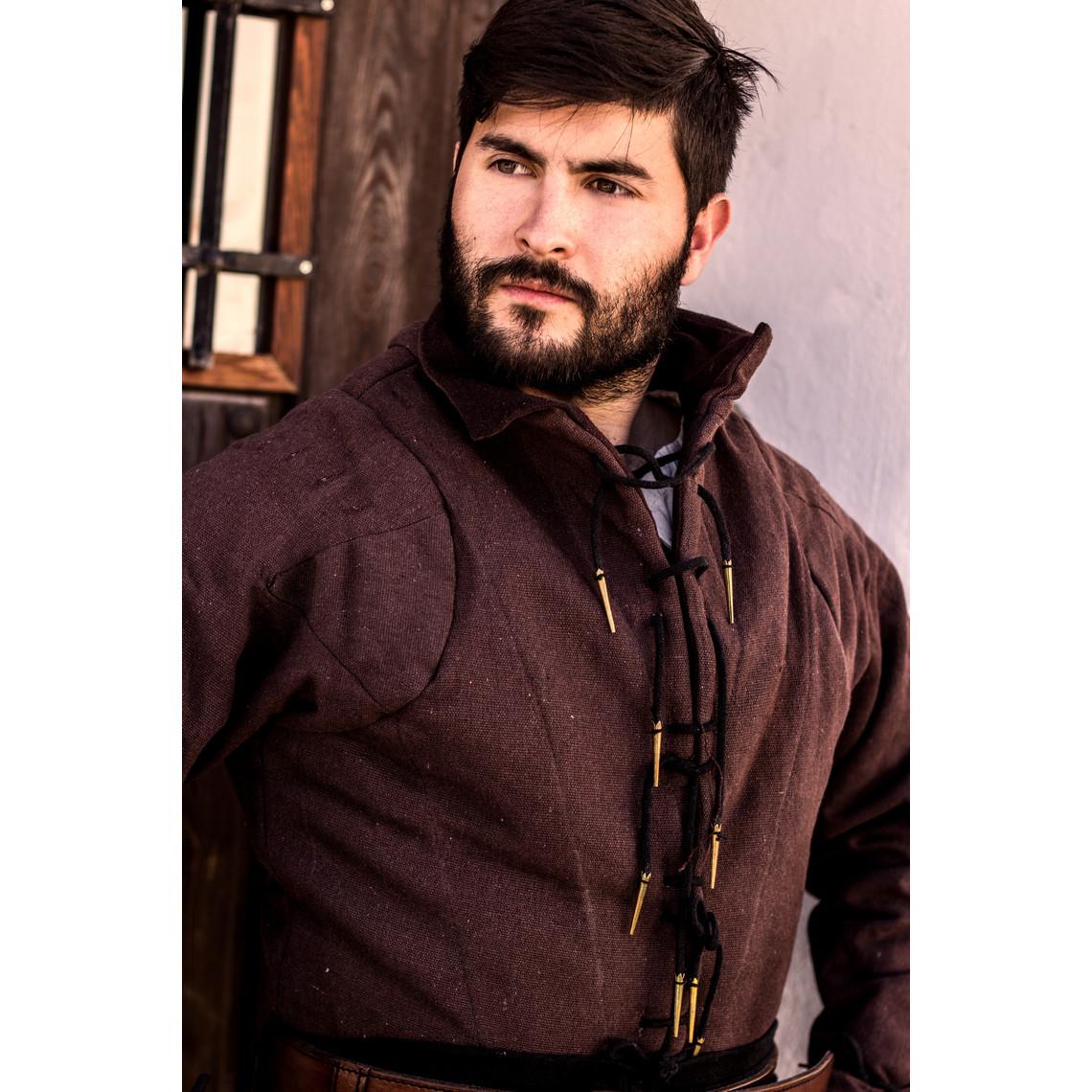 Mytholon Tudor gambeson marrone