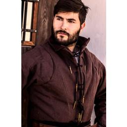 Tudor gambeson brun