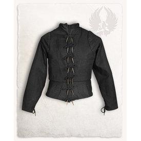 Mytholon Tudor gambeson noir