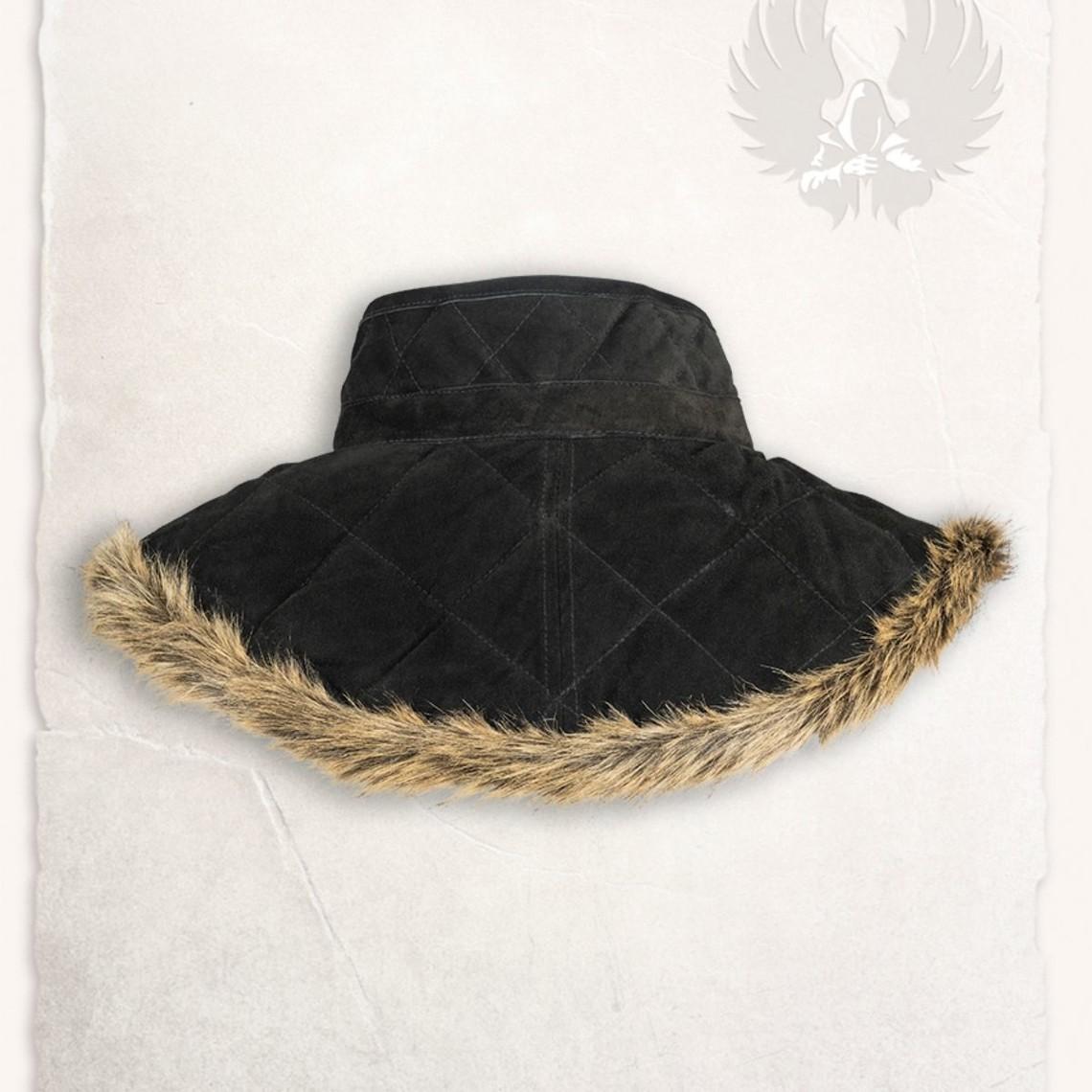 Mytholon Gambeson kraag Nimue wol zwart