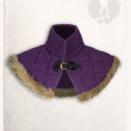 Gambeson collar Nimue wool lilac