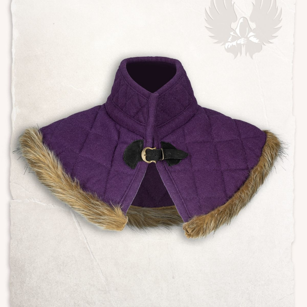 Gambeson kraag Nimue wol lila