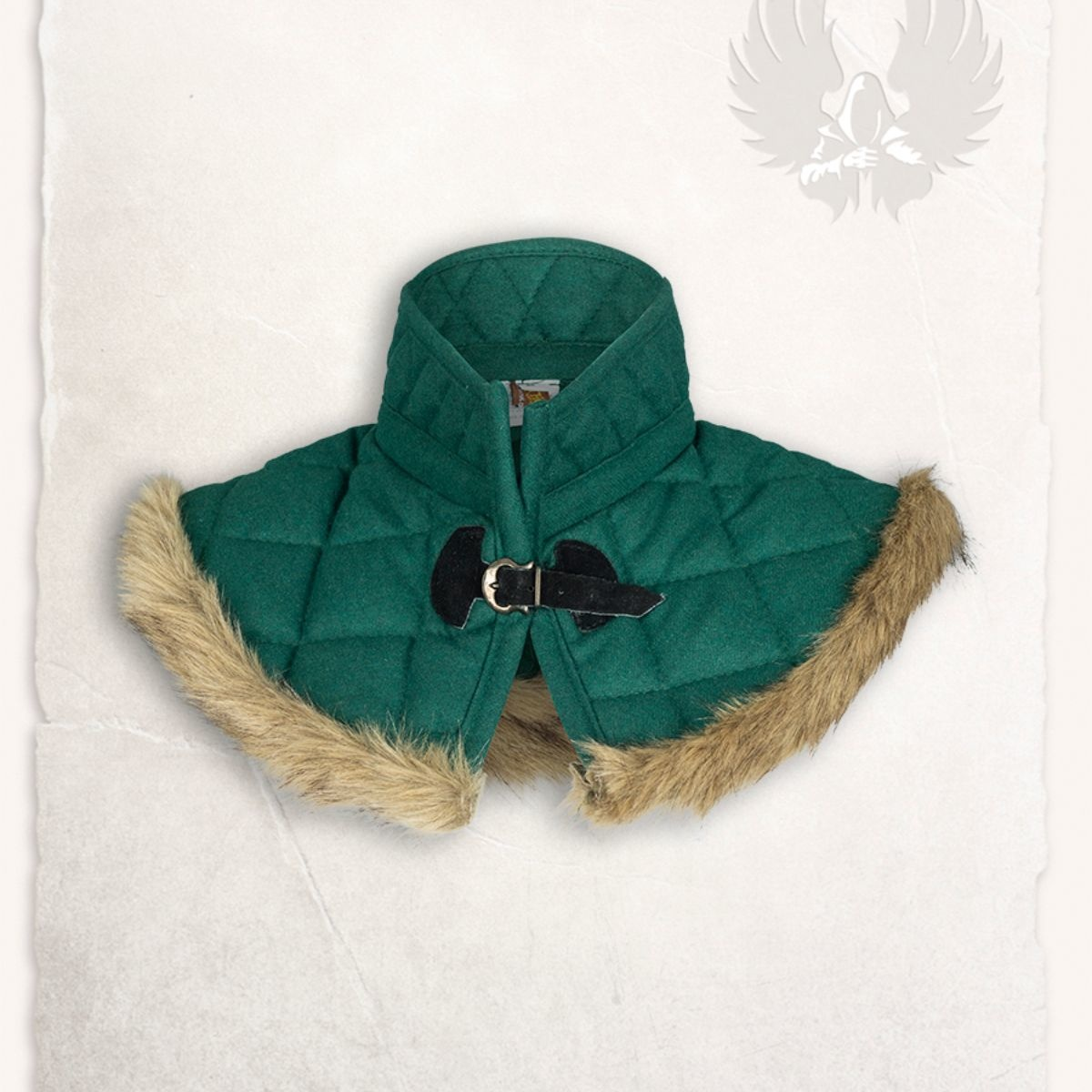 Gambeson kraag Nimue wol groen