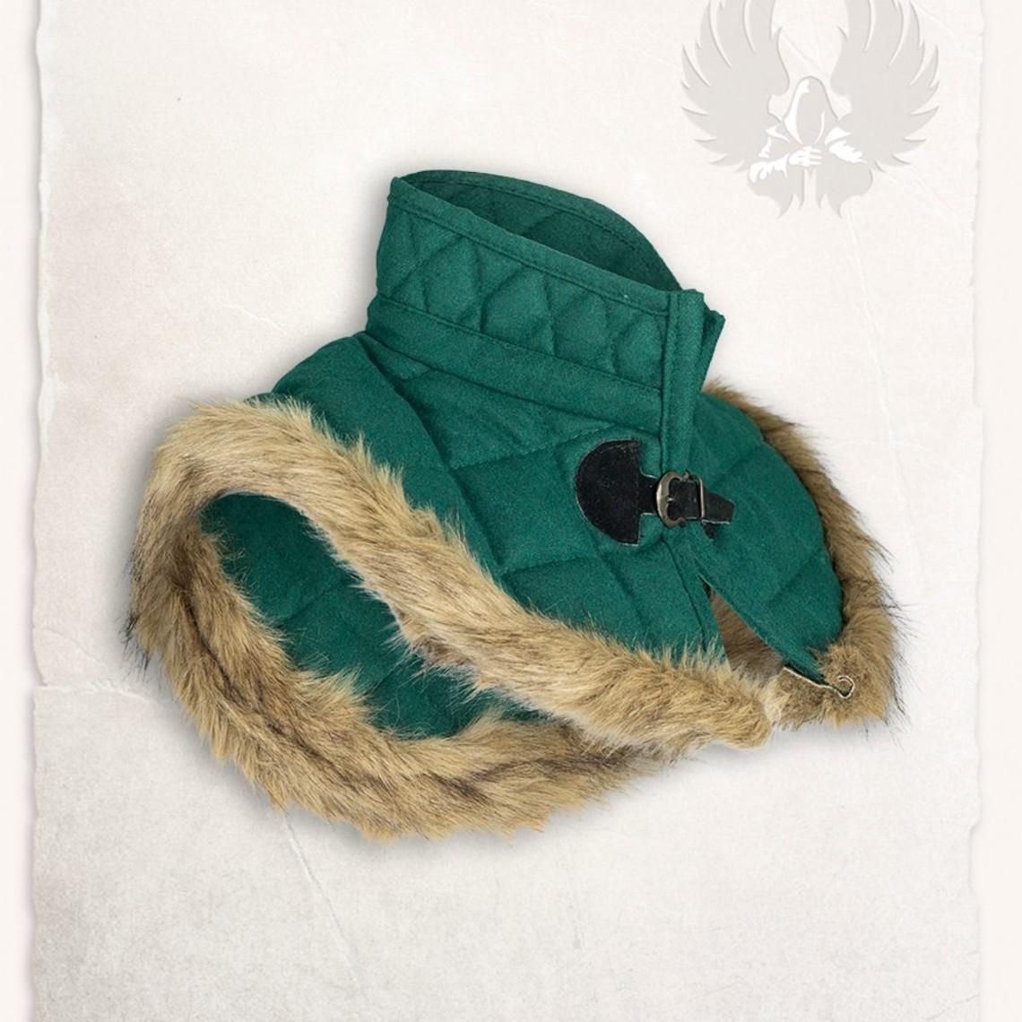 Mytholon Gambeson Kragen Nimue Wolle grün