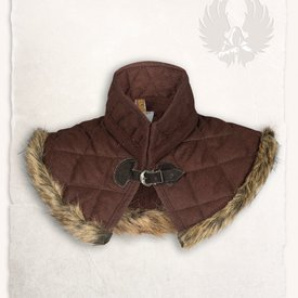 Mytholon Gambeson kraag Nimue wol bruin