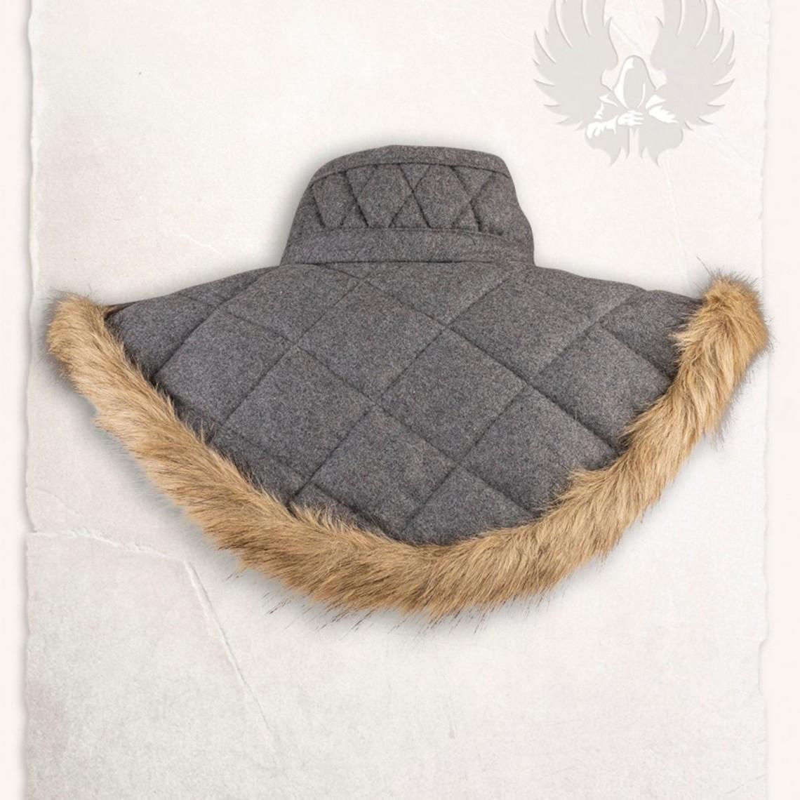 Mytholon Gambeson kraag Nimue wol grijs