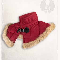 Gambeson collar Nimue wool burgundy