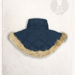 Gambeson collar Nimue wool blue