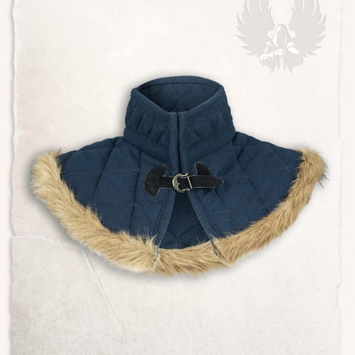 Mytholon Gambeson Kragen Nimue Wolle blau