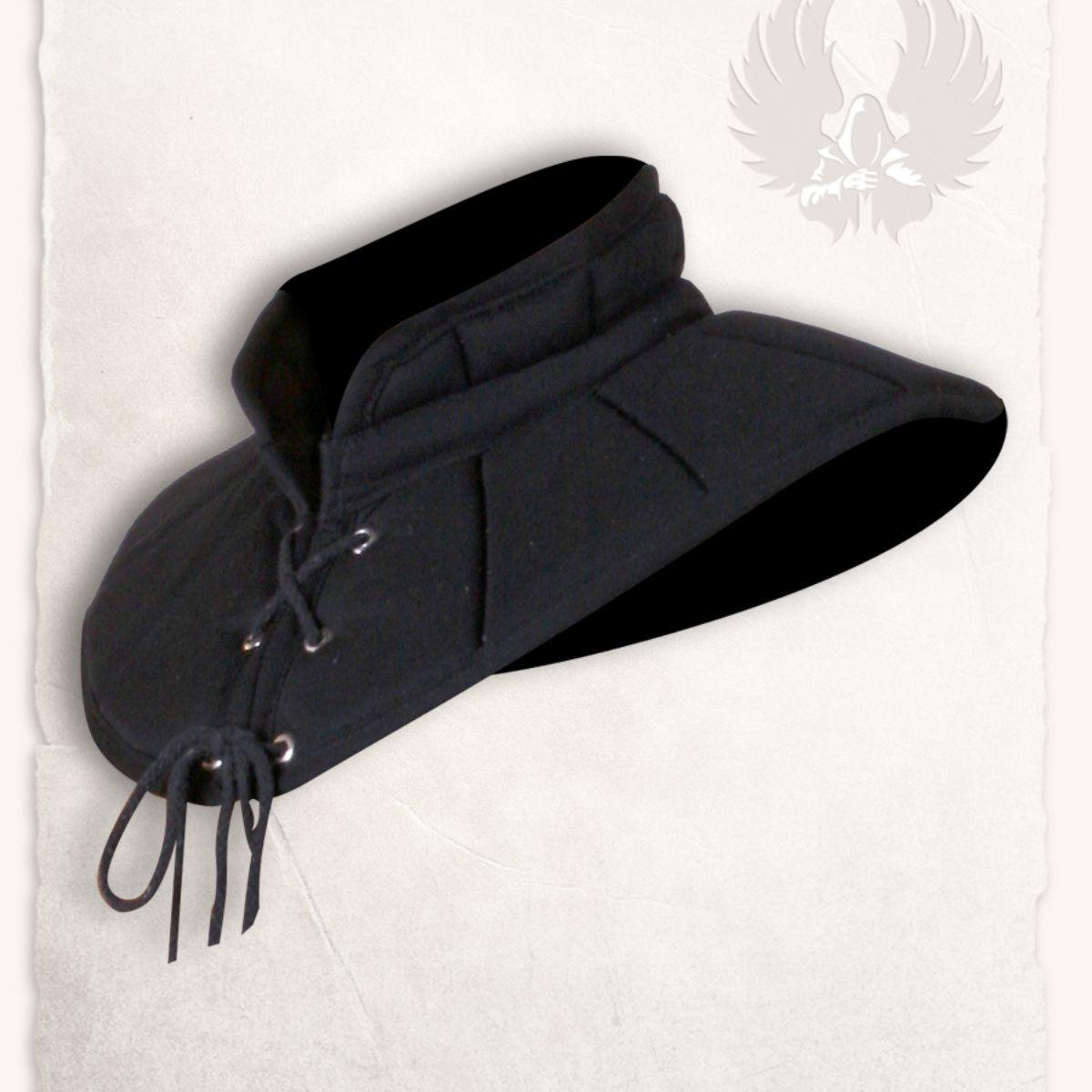 Gambeson kraag Leopold zwart