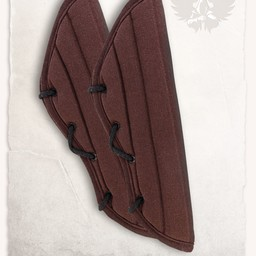Gambeson arm protectors Leopold brown