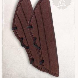 Mytholon Gambeson armbeschermers Leopold bruin