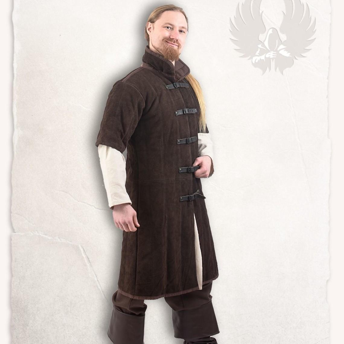 Mytholon Leren gambeson Leopold bruin