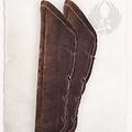 Mytholon Gambeson cretons de cuir marron de Leopold