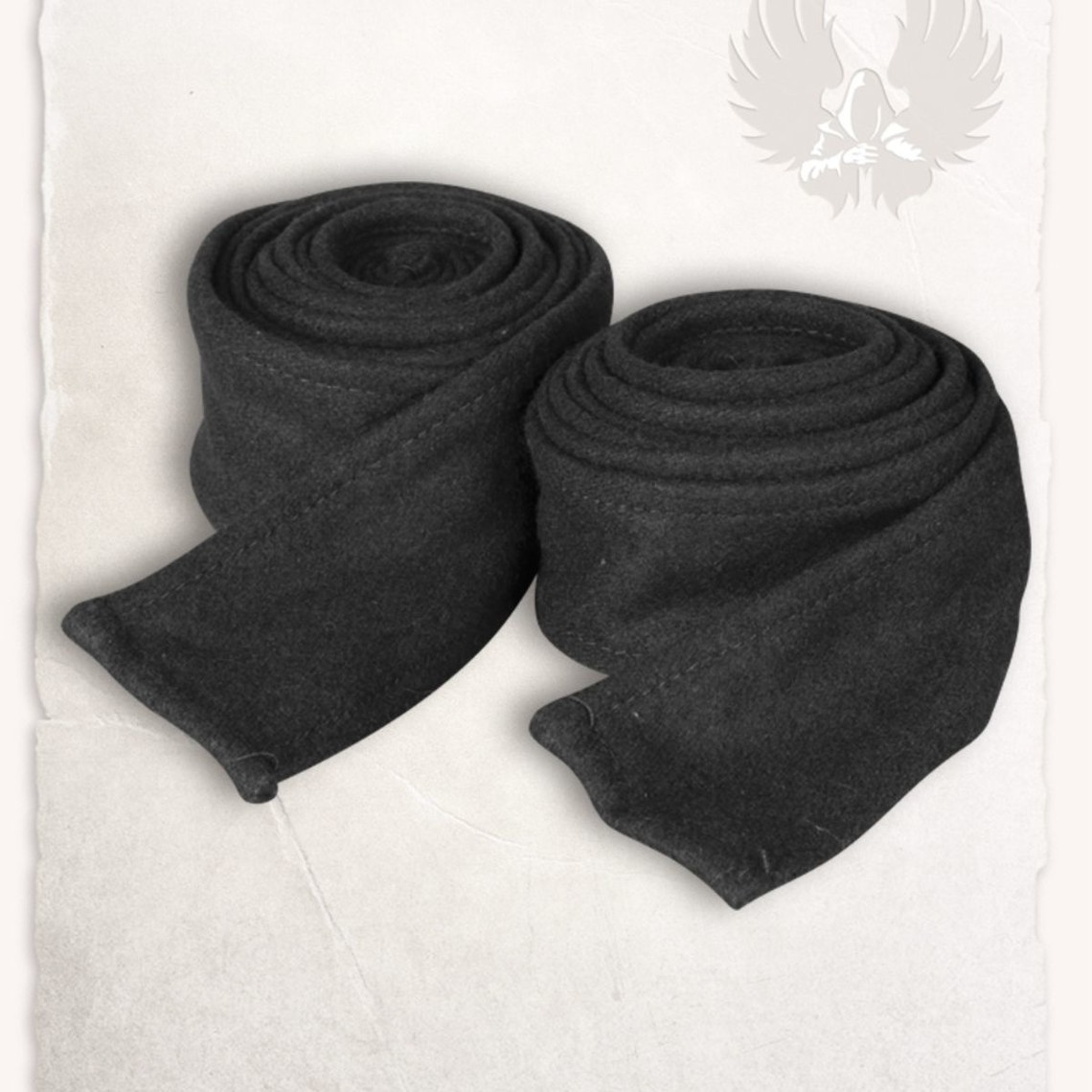 Mytholon Arm Umhüllungen Hamond Wolle schwarz