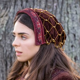 Embroidered hairnet