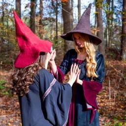 Brujas sombrero, de color marrón
