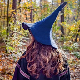 Witches hat, blue