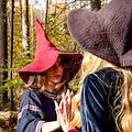 Leonardo Carbone Sombrero de las brujas, rojo