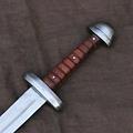 Mytholon Espada vikinga Tjure lista para la batalla