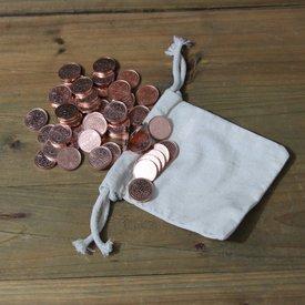Mytholon 50 LARP mynt med pengar påse