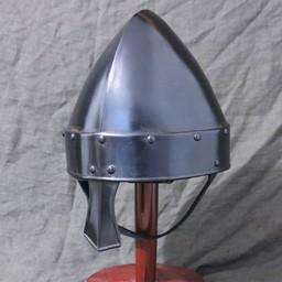 Norman nasal helmet Baldric bronzed