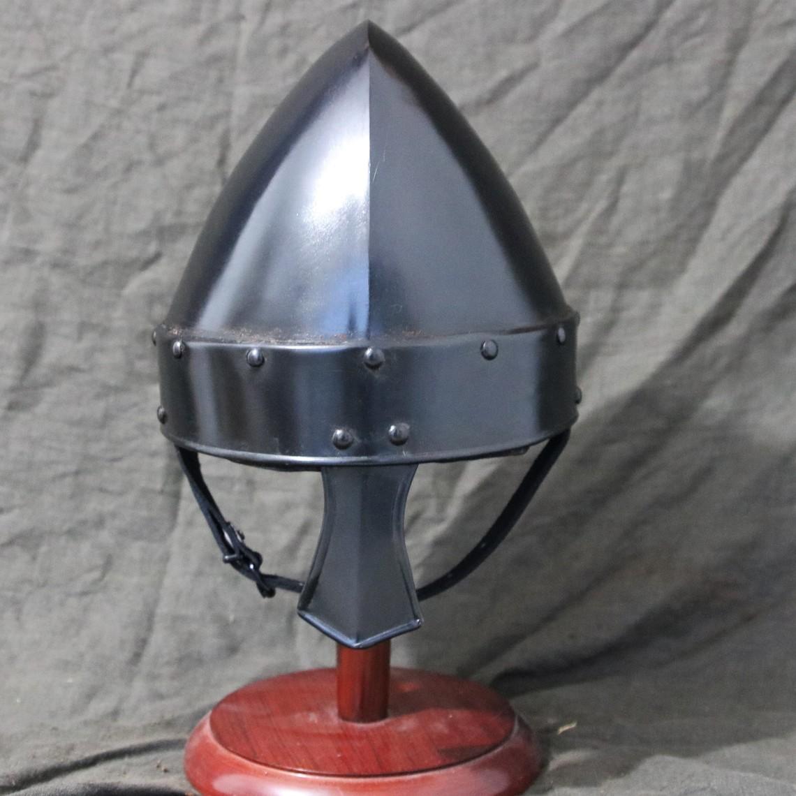 Mytholon Norman nasal casco Baldric bronceada
